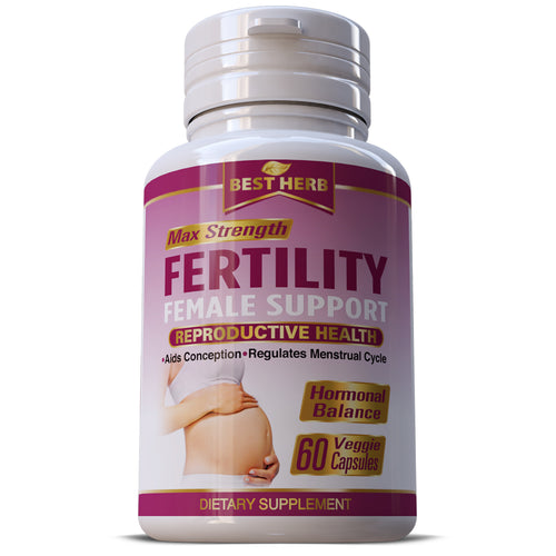 CONCEPTION AID INCREASE FEMALE FERTILITY SUPPORT OVULATION HERBS PILLS