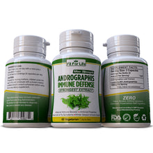 Load image into Gallery viewer, Andrographis AntiViral Properties Boost Respiratory Immune Defense Support Capsules Pills