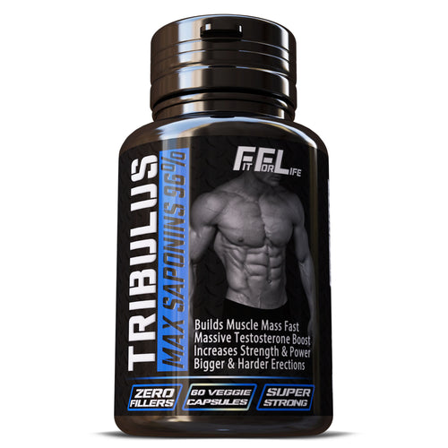 Tribulus Terrestris Saponins 96% Strongest Extract 15:1 Bigger Muscles Sexual Stamina Pills