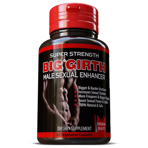 Big Girth Male Enhancement Erection Booster Erectile Dysfunction Pills