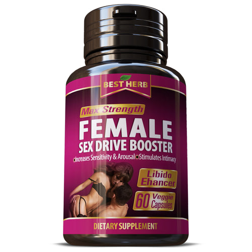 Female Libido Enhancement Increases Sexual Arousal & Erotic Desire Naturally Capsule