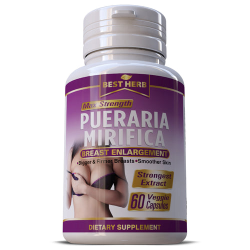 Pueraria Mirifica Natural Breast Enlargement Premium  Boob & Butt Firming Capsules