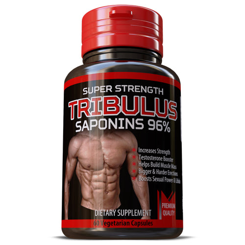 Tribulus Terrestris Saponins 96% Strongest Extract 15:1 Bigger Muscles Pills