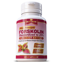 Load image into Gallery viewer, Best Herb Forskolin Weight Loss Slimming Herbal Supplement Capsules Pills