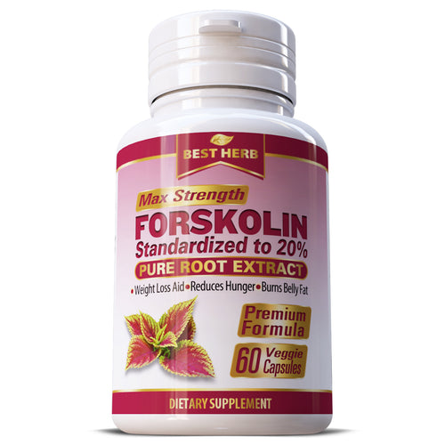 Best Herb Forskolin Weight Loss Slimming Herbal Supplement Capsules Pills