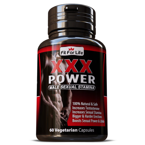 XXX Power Erectile Dysfunction Booster Male Enhancement Herbal Supplement Pills