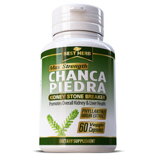 Load image into Gallery viewer, Best Herb Chanca Piedra Kidney Stone Gall Stone Breaker Herbal Remedy Supplement Capsules