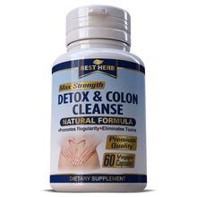 Load image into Gallery viewer, Colon Detox Cleanse Weight Loss Slimming Fat Burner Pills