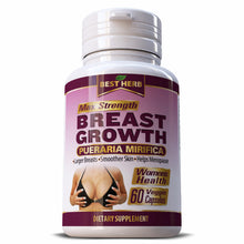 Load image into Gallery viewer, Best Herb Breast Growth Pueraria Mirifica Herbal Supplement Capsules
