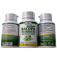 Load image into Gallery viewer, Bacopa Monnieri (Brahmi) Leaf Extract Memory Enhancement