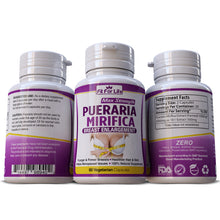 Load image into Gallery viewer, Pueraria Mirfica Extract Capsules Bigger Bust Enhancement Butt Firming Estrogen Pills