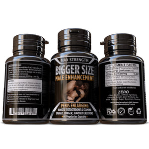 Bigger Size Male Enhancement Sexual Stamina Pills