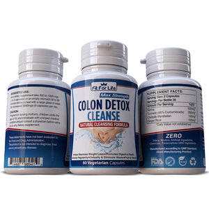 Colon Detox Cleanse Weight Loss Diet Slimming Promotes Regularity Pills