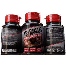 Load image into Gallery viewer, Tribulus Terrestris Saponins 96% Strongest Extract 15:1 Bodybuilding Weight Training Pills