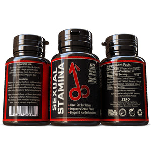 Sexual Stamina Male Enhancement Supplement Testosterone Erection Booster