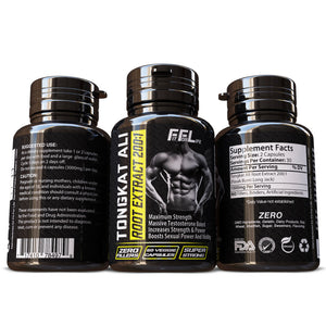Tongkat Ali Root Extract Grade 'A' 200:1 Power For Men Male Enhancing Pills