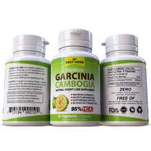 Load image into Gallery viewer, Garcinia Cambogia Premium HCA 95% Weight Loss Slimming Fat Burner Pills
