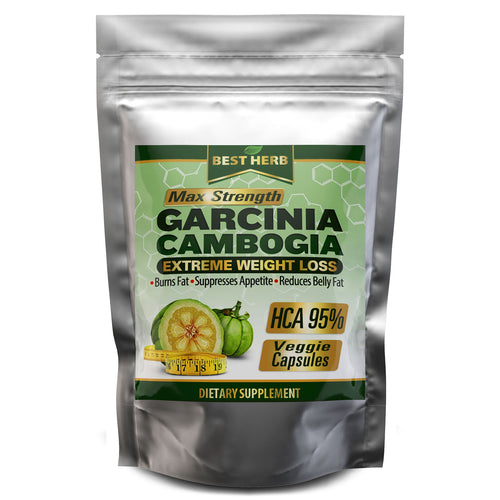 240 x Pills Max Strength Garcinia Cambogia HCA 95% Natural Weight Loss