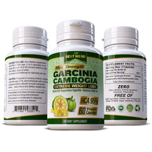 Load image into Gallery viewer, Garcinia Cambogia Extreme Weight Loss 100% Pure & Natural Slimming Diet Herbal Supplement