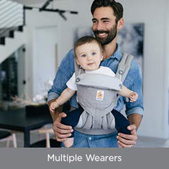 ERGOBABY Fits You and Your Partner ANB Baby