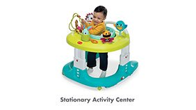 TINY LOVE Here I Grow 4-in-1 Baby Walker and Mobile Stationary Activity Center - ANB Baby