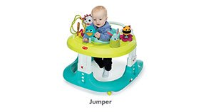 TINY LOVE Here I Grow 4-in-1 Baby Walker and Mobile Activity Center Jumper - ANB Baby