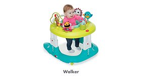 TINY LOVE Here I Grow 4-in-1 Baby Walker and Mobile Activity Center - ANB Baby