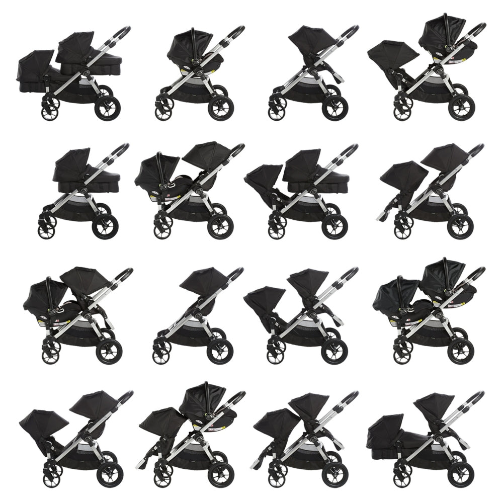 Baby Jogger City Select Double Stroller Multiple Configurations | ANB Baby