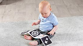 TINY LOVE Black and White Gymini Sit and Play - ANB Baby