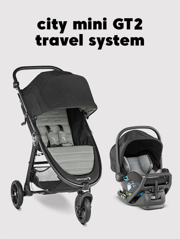 Backpack - BABY JOGGER City Mini GT2 Stroller and City GO Car Seat Complete Travel System