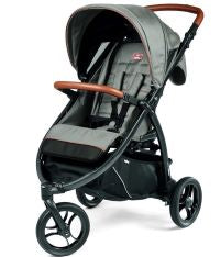 Agio Z3 All Terrain Stroller by Peg Perego in Grey | ANB Baby