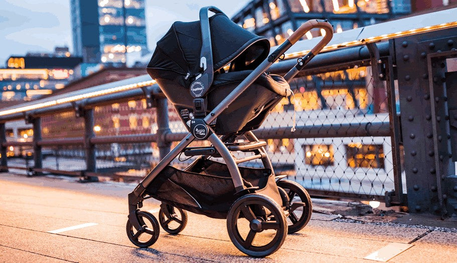 AGIO Z4 Stroller Compatible to Infant Car Seat | ANB Baby