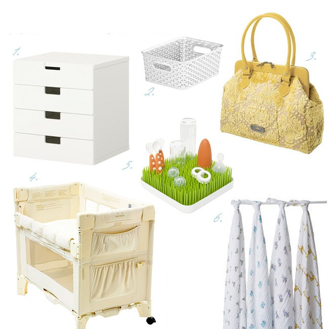 Furniture, Baby Gear Things to Buy For the Newborn Baby