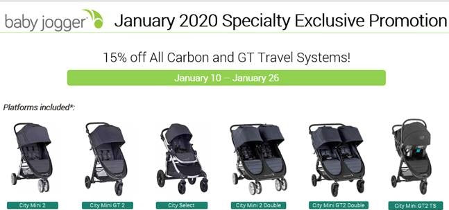 Baby Jogger Strollers Promotion - ANB Baby