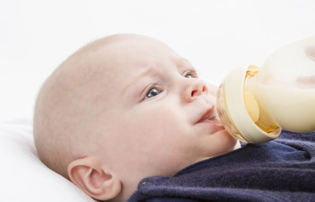 Person, Bottle Feeding Is Baby Getting Too Much