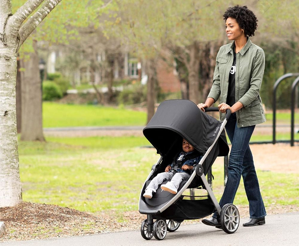 BRITAX B-Lively Stroller Lifestyle - Raven | ANB Baby