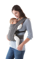 Mother Using Embrace Baby Front Carrier