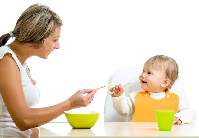 Person, Feeding Babies to maintain Them Properly Nourished