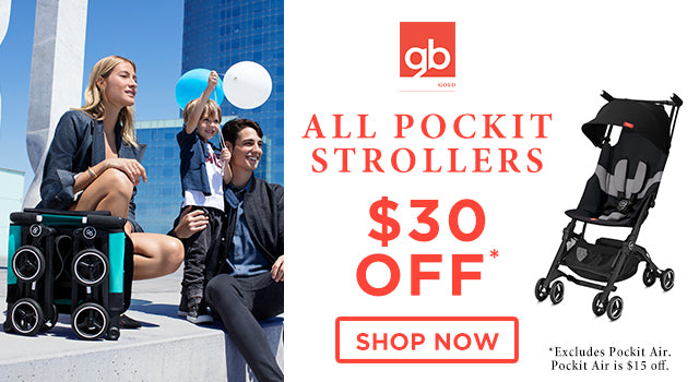 GB Pockit Strollers Promotion