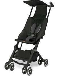 GB Pockit Compact Stroller - Monument Black - ANB Baby