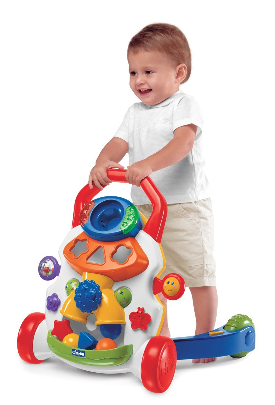 Person, Help Your Baby to Take First Step With Baby Walkers