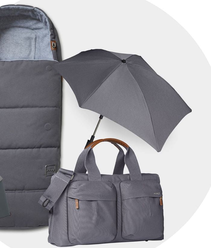 Joolz Accessories Footmuff, Parasol and Diaper Bag | ANB Baby
