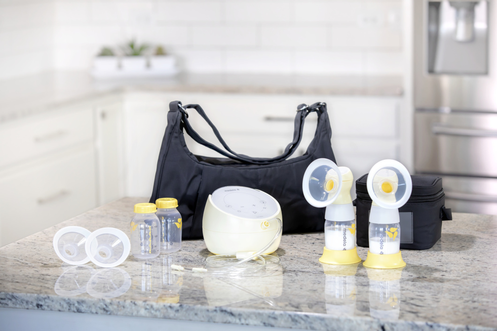 Medela Sonata® Smart Breast Pump with Personal Fit Flex™ Breast Shields - ANB Baby