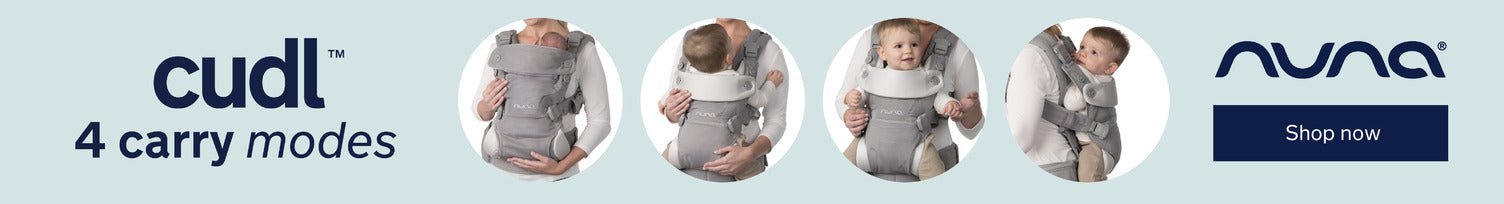 NUNA CUDL Baby Carrier 4 Carry Positions | ANB Baby