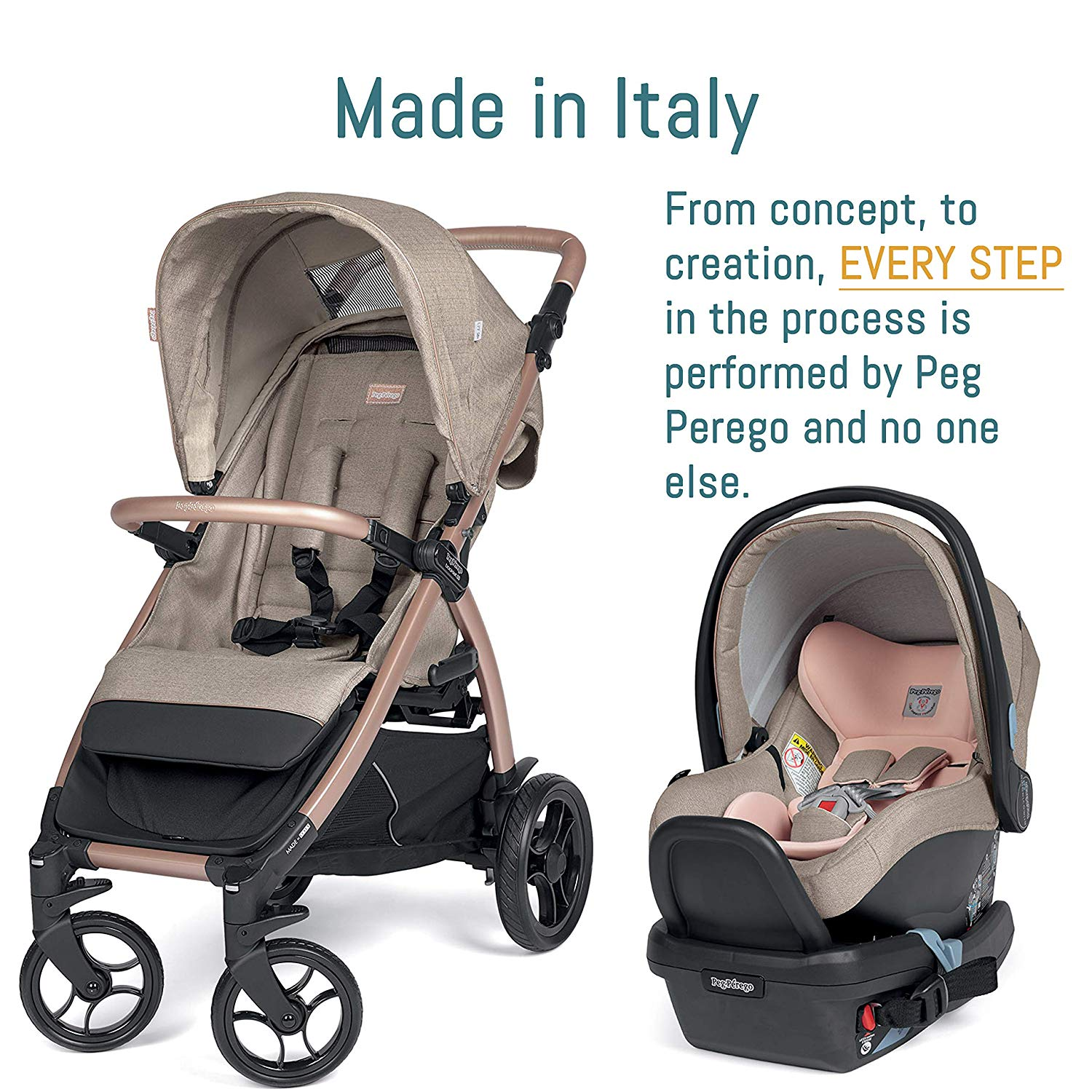 Peg Perego Booklet 50 Travel System | ANB Baby