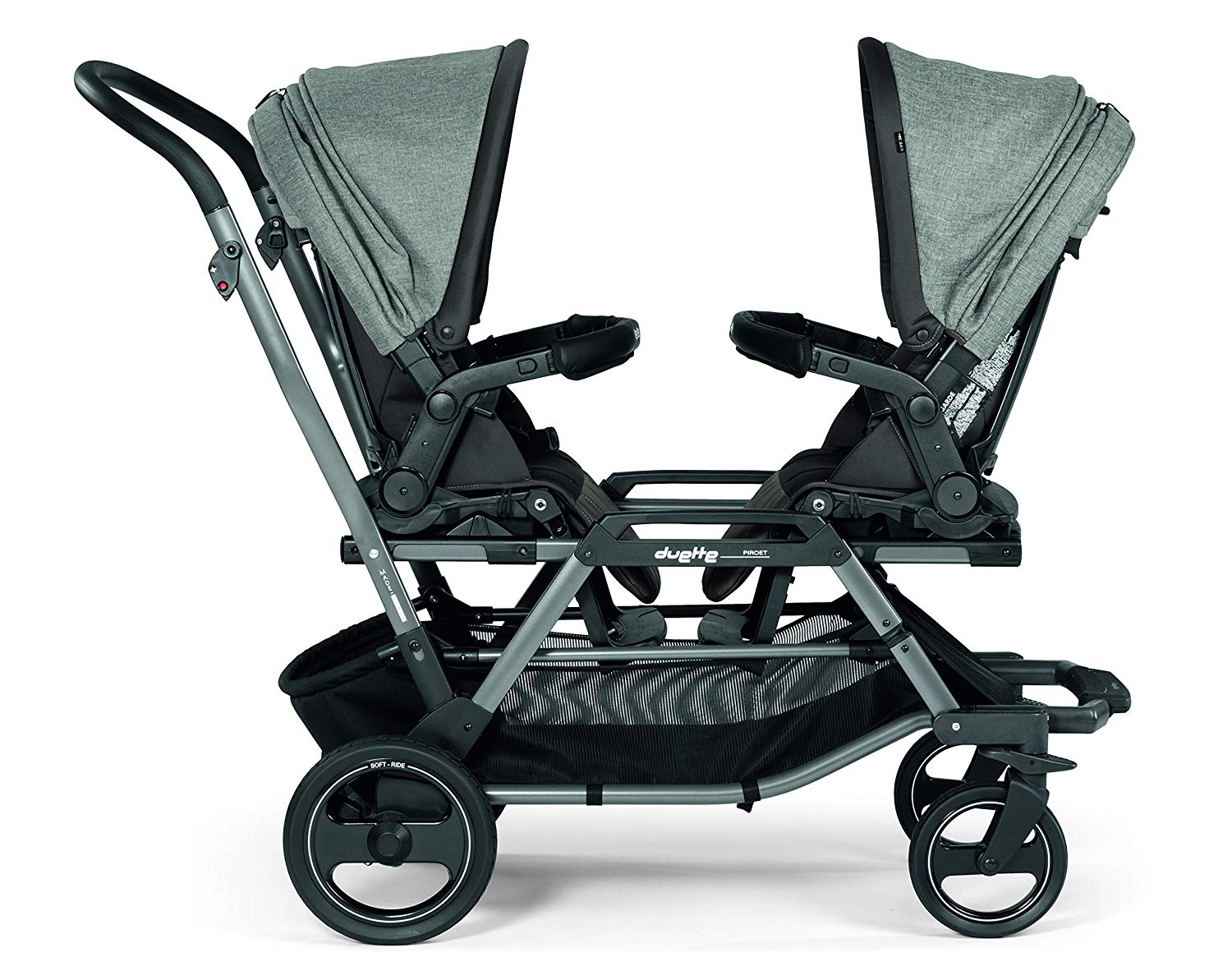 PEG PEREGO Duette Piroet Double Stroller | ANB Baby