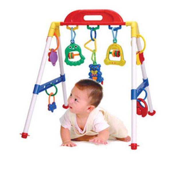 Human, Playing and learning with educational baby toy