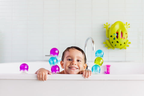 Boon 9-Pieces Jellies Suction Cup Bath Toys