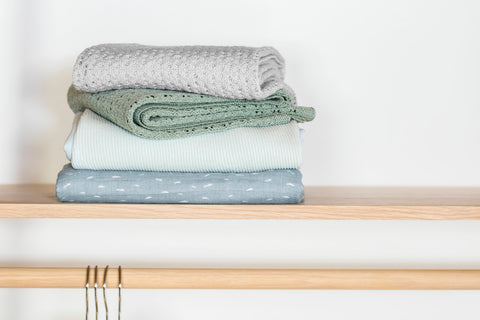Stokke® Blanket Merino Wool Available In Soft Subtle Colors - ANB Baby