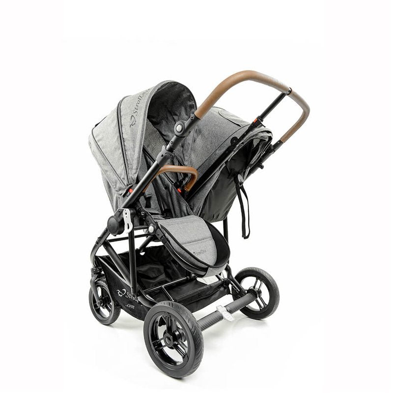 StrollAir Twin Way Stroller Independent Reversible Seats
